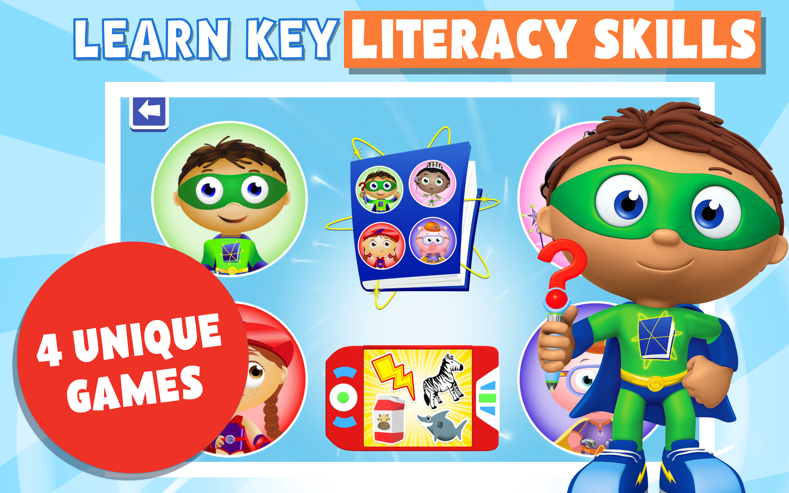 Super Why! App Mobile Downloads | PBS KIDS