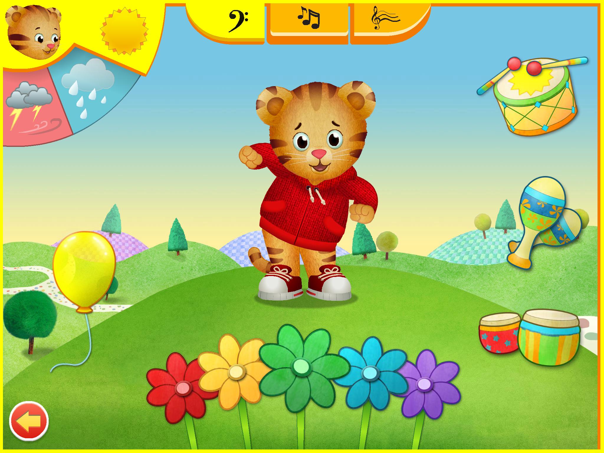 Daniel Tiger Play At Home With Screenshot