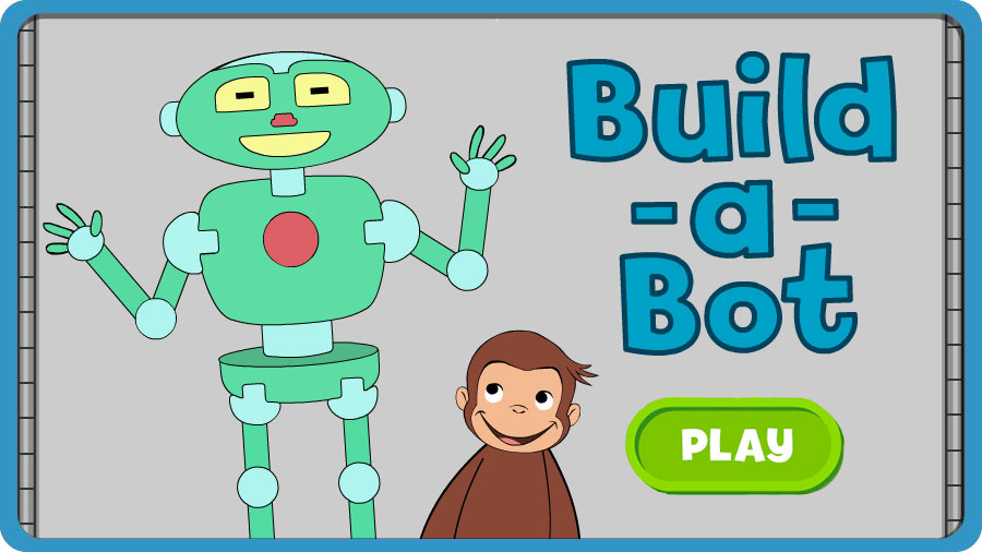 curious george build a bot pbs kids - Curious George Halloween Games