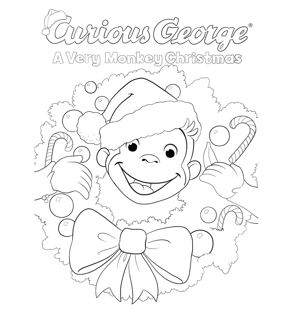 Curious George Printables