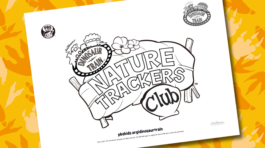 nature trackers logo - Pbs Kids Coloring
