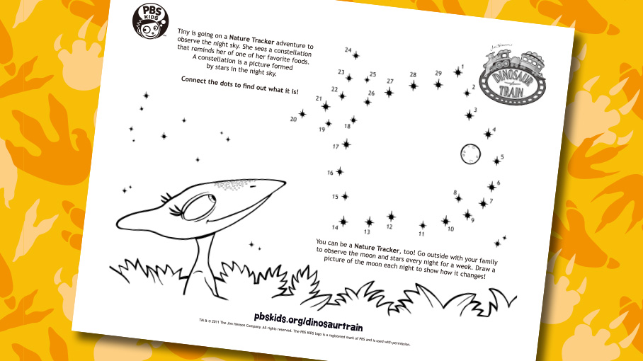 nature trackers stars - Pbs Kids Coloring