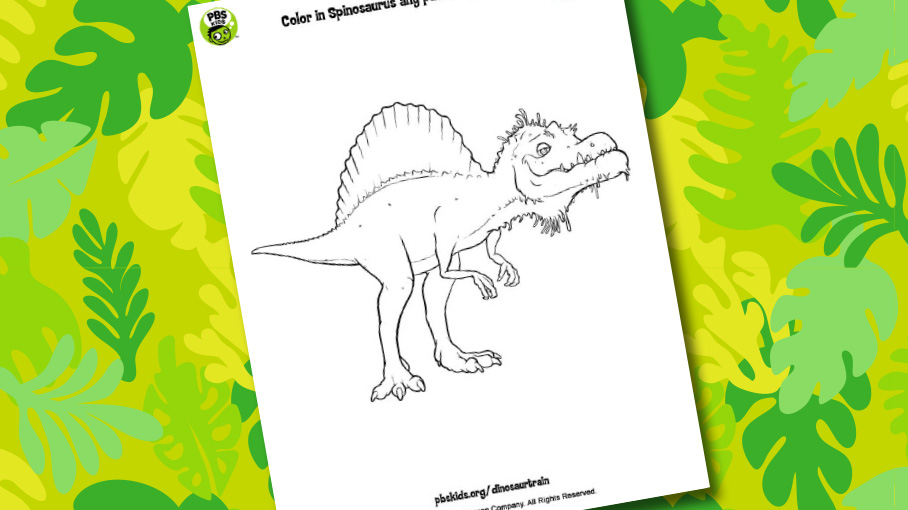 Dinosaur Train  Printables  PBS KIDS