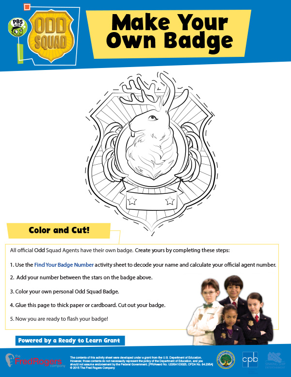 odd squad coloring pages Odd Squad Learning Resources | PBS KIDS odd squad coloring pages