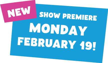 Come join us for the premier of 'Pinkalicious and Peterrific' on Monday February 19.