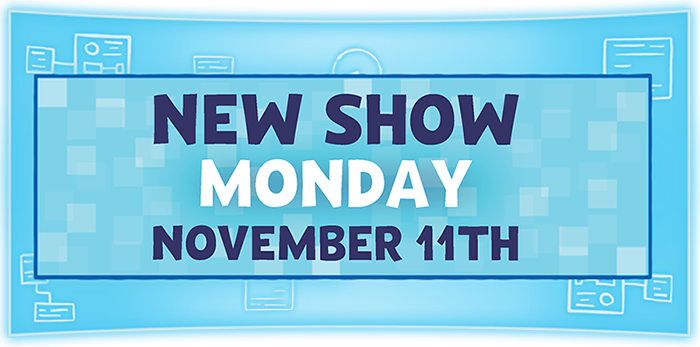 Watch PBS kids new show Xavier Riddle and the secret museum starting Monday November 11th.