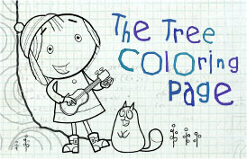 The Tree Coloring Page
