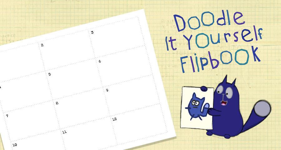 Doodle It Yourself Flipbook