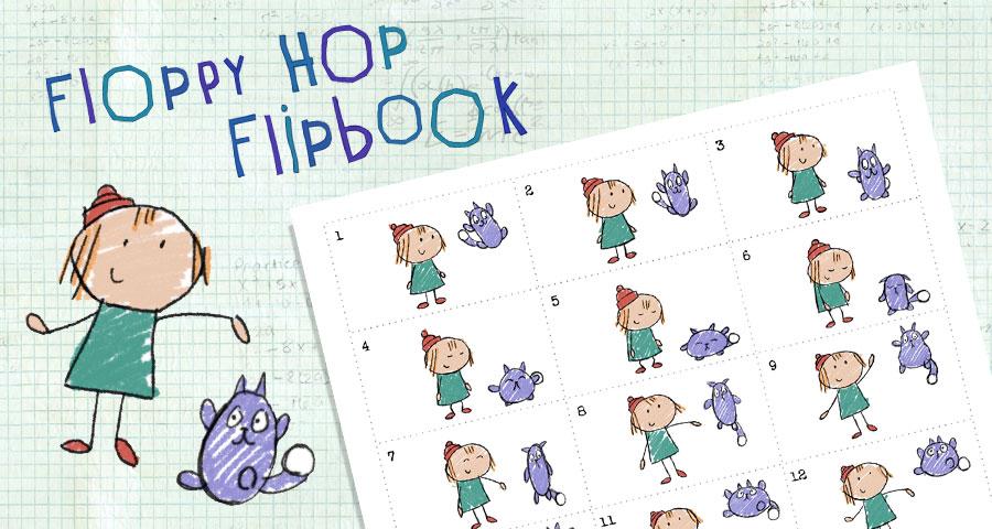 Floppy Hop Flipbook