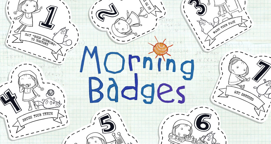 Morning Badges