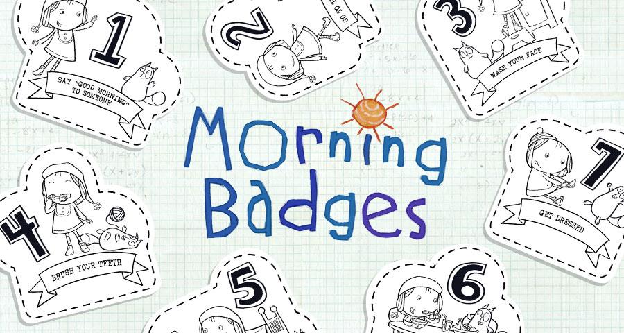 Morning Badges