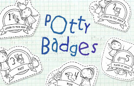 Potty Badges