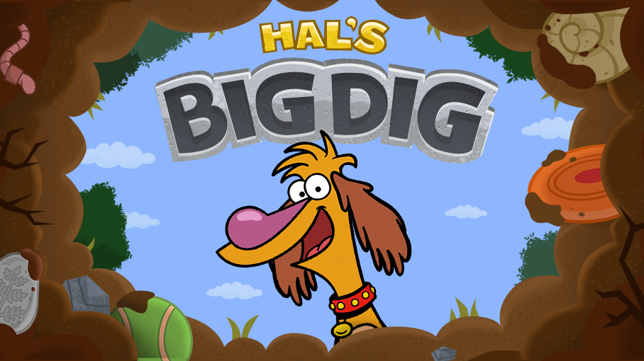 Game icon for Hal's Big Dig.