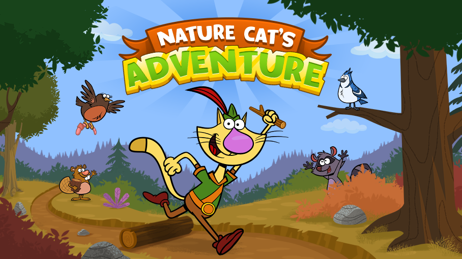 Game icon for Nature Cat's Adventure.