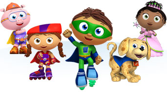 Super Why Characters